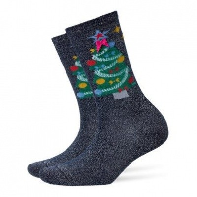 Foto van Burlington Fashion Christmas sock 20686 6120