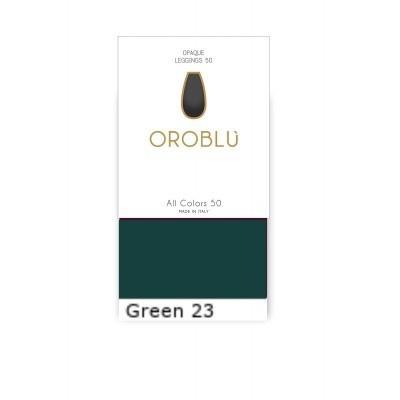 Foto van Oroblu ALL COLORS panty 50 OR1145050 GREEN 23