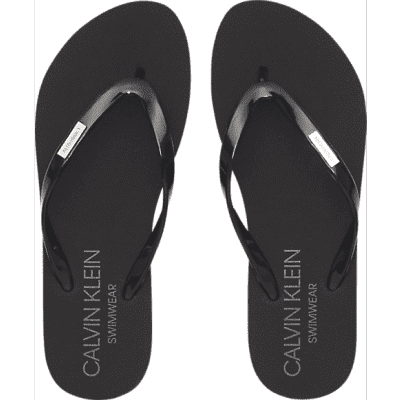 Foto van Calvin KleinFF SANDAL, 094 KW0KW00395094 slippers zwart