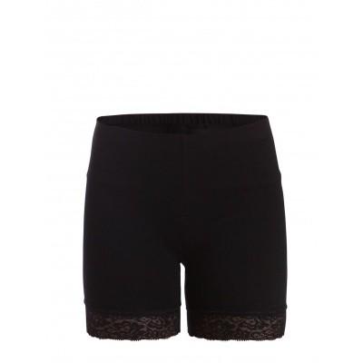 Foto van Pieces pcedita short shorts lace 17067061 zwart