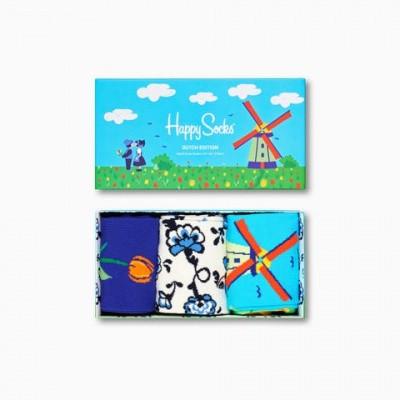 Foto van Happy socks SXDUT08-1300 Dutch Edition Gift Box 3-Pack