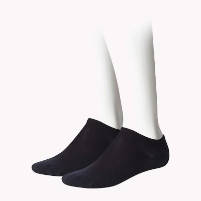 Foto van Tommy Hilfiger kids 2 pack sneaker sokken 301390 200 black