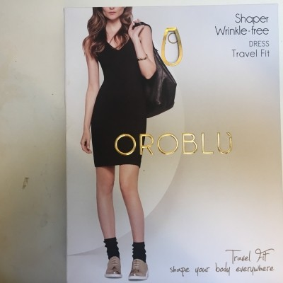 Foto van Oroblu Shaper wrinkle-free dress VOBT64514 black