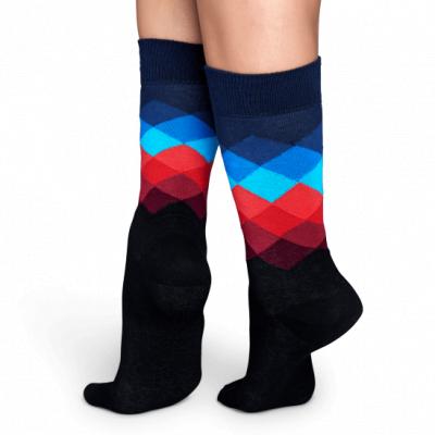Foto van Happy socks FADED DIAMOND FD01