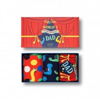 Foto van Happy socks FATHER'S DAY SOCKS GIFT SET 3PACK XFAT08-0200