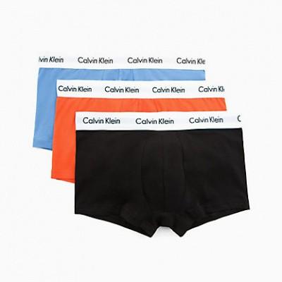 Foto van Calvin Klein 3 pack Low Rise Trunk U2664G-KXD