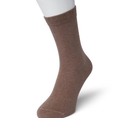 Foto van Bonnie Doon Cotton Socks 83422 HAZELNUT