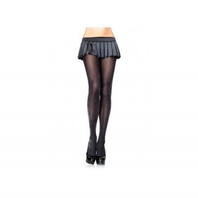 Foto van Bonnie Doon sparking tights feest panty BN551983 black/zilver