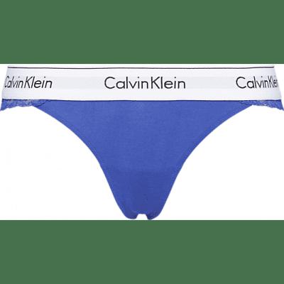 Calvin Klein Thong modern cotton lace QF4585E-PZ6