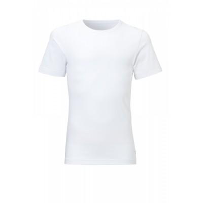 Foto van Ten Cate jongens 2 pack t-shirts wit 3398