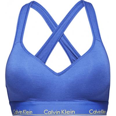 Foto van Calvin Klein bralette modern cotton QF1654E-PZ6 Pure Cerulean