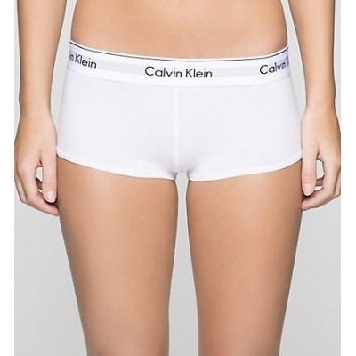 Foto van Calvin Klein boyshort modern cotton F3788E wit