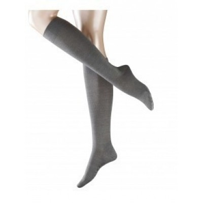 Foto van Falke London Sensitive kniekous 47626 anthracite mel.