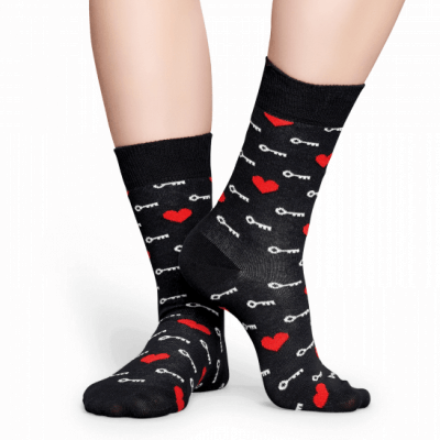 Foto van Happy socks KTM01-9000 Key To My Heart Sock