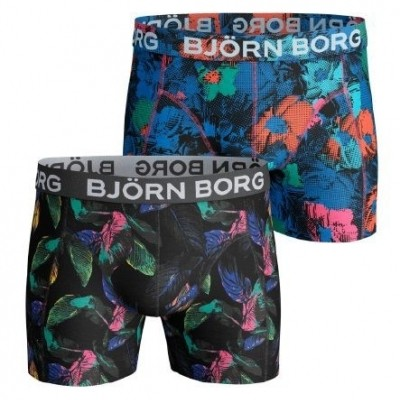 Foto van BJÖRN BORG2p SHORTS BB VIBRANT LEAVES & BB FLOWER SH 1811-1040-90651