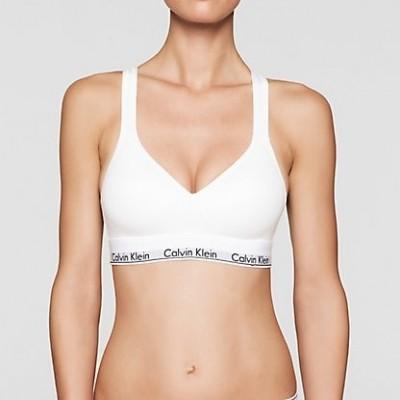 Foto van Calvin Klein bralette modern cotton QF1654E wit