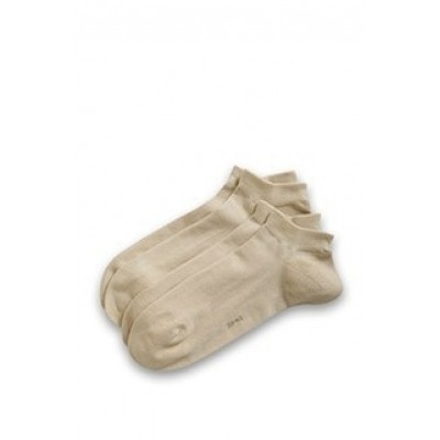 Foto van Esprit cotton short sock 17855 2 pk sand