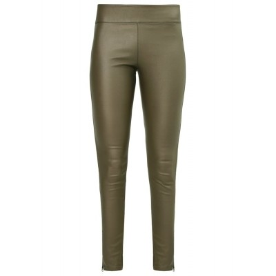 Foto van Pieces london legging 17090850 olive green