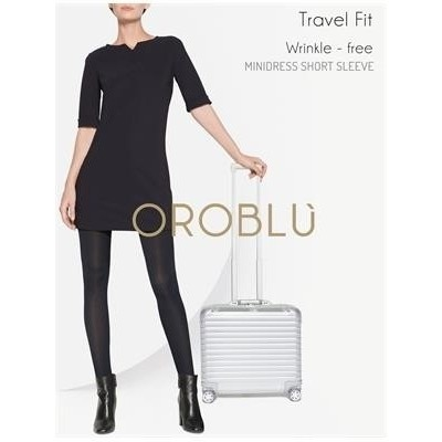 Foto van Oroblu Shaper wrinkle-free mini dress VOBT64817 black