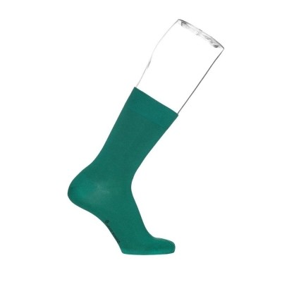 Foto van Bonnie Doon cotton sock BD 632401 ivy 40-46