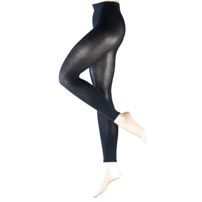 Foto van Falke cotton touch legging 40084 navy