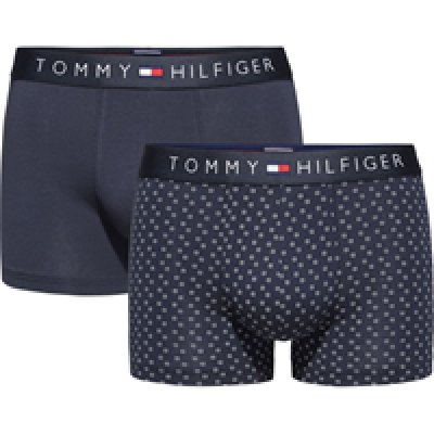 Foto van Tommy Hilfiger happy holidays 2 pack square dots 1U87906046