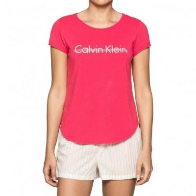 Foto van Calvin Klein S-S CREW NECK womens top, QS5659E-UL1