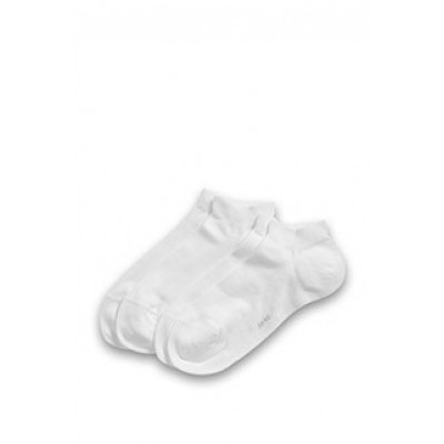 Foto van Esprit cotton short sock 17855 2 pk wit
