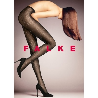 FALKE PICOT TIGHTS 40839/3009 zwart