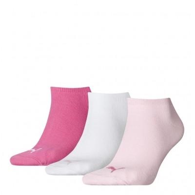 Foto van PUMA UNISEX SNEAKER PLAIN 3P 261080001 422 pink
