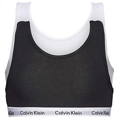 Foto van Calvin Klein 2 pack bralette G80G897000 zwart/wit