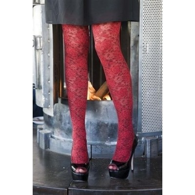 Bonnie Doon Layered Lace Tights BN251966 stawberry
