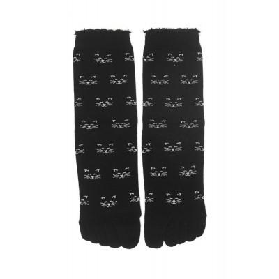 Foto van Bonnie Doon Cat Face Toe Sock BN75.10.02