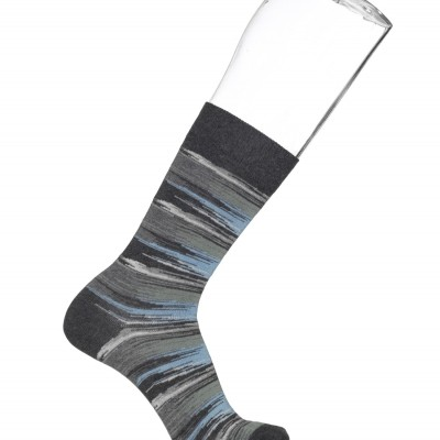 Foto van Bonnie Doon Worn/out stripes sock BN842139