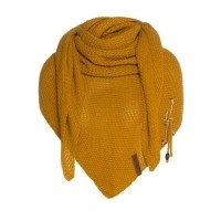 Foto van Knitfactory Coco shawl in Oker