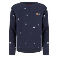 Foto van IBJ	CREWNECK SPACE ALL OVER