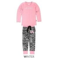 Foto van Claesens Girls Pyjama Set - Crocodile