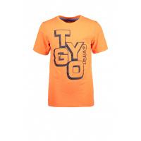 Foto van T&v Neon T-shirt LOGO (Shocking orange)