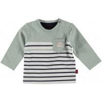 Foto van Bess Shirt l.sl. Striped with Pocket