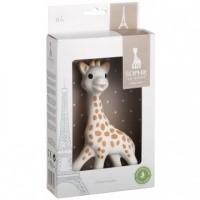 Foto van Sophie de Giraf in geschenkverpakking