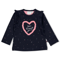 Foto van Feetje Longsleeve Sea Loves - Seaside Kisses