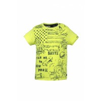 Foto van Born to be Famous T-shirt Yellow