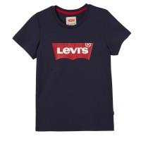 Foto van Levi's T-shirt Blauw met rood