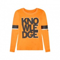 Foto van Name it NKMSONO Longsleeve Orange Pop