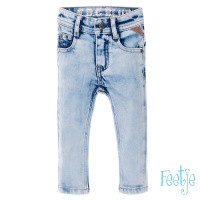 Foto van Feetje Light Blue slim fit denim boys