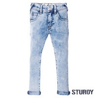 Foto van Sturdy Light blue slim fit denim