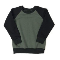 Foto van KMDB Sweater Echo Khaki-Black