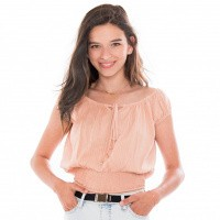 Foto van Frankie and Liberty Nikita Blouse Caramel