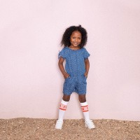 Foto van Denim playsuit AOP - Summer Denims