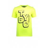 Foto van T&v Neon T-shirt LOGO (Safety yellow)